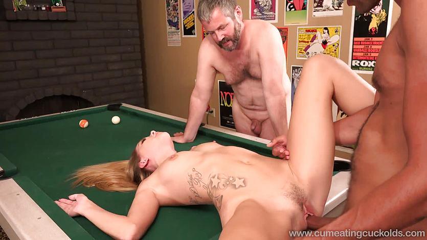 Hollie Mack hot threesome