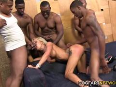 Zoey Portland group fucking black cocks