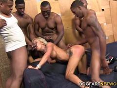 Zoey Portland group fucking black cocks