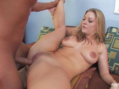 Blonde Avy Scott gets her pussy nailed