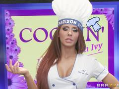Madison Ivy serves up something hot and spicy