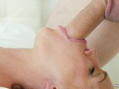 Slippery drilling and gag with Ariel Winters