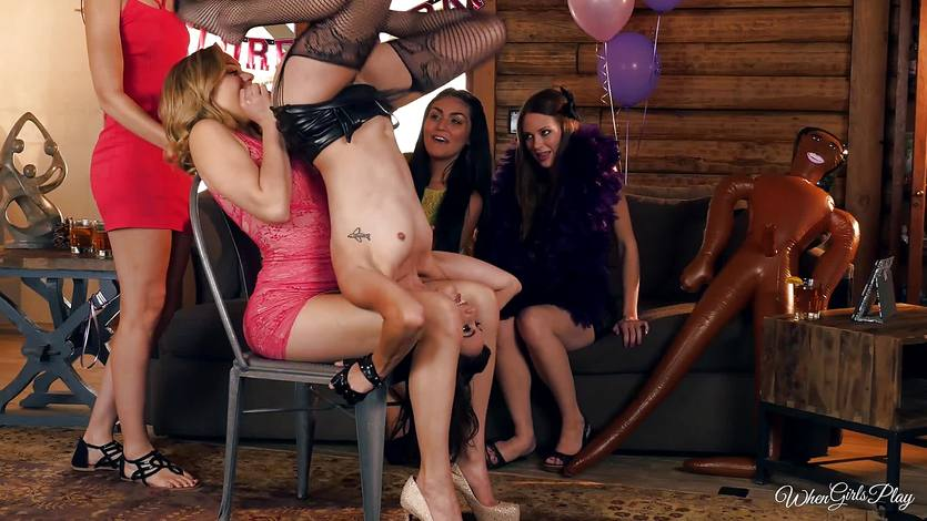 Mia Malkova and Georgia Jones party night fun