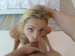 POV Brooke Logan lusts for thick cock
