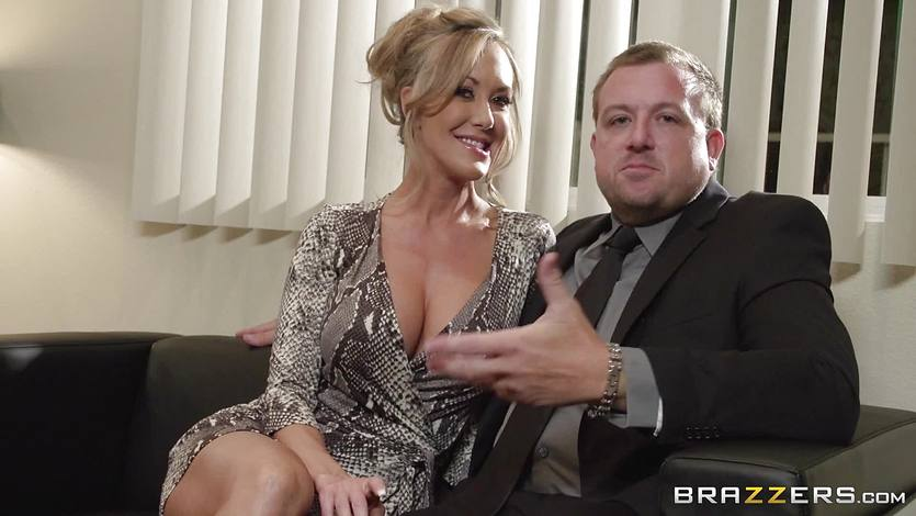 Brandi Love gets treated by her husband with a new man to fuck