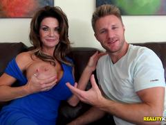 Sexy mom Deauxma pussy pounded deep