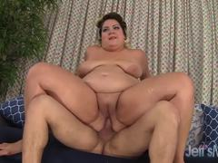 Chubby Jade Rose loves getting fucked from behind