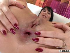 Eva Karera drilled in her butthole