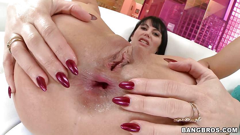 karera anal creampie Eva