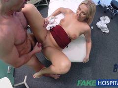 Randy nurse fucked hard and rough