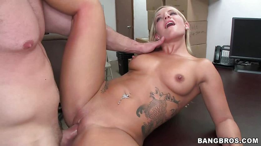 Cali Carter drilled from behind