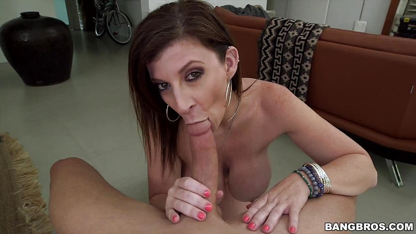 Sara Jay riding cock