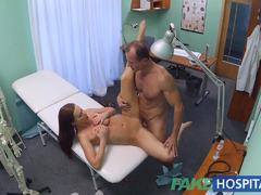 Horny patient enjoys a good fucking
