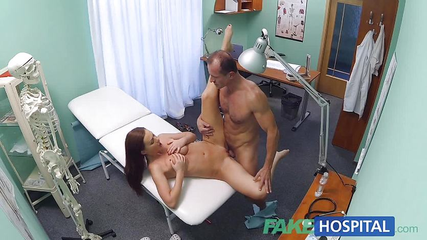 Horny patient enjoys a good fucking