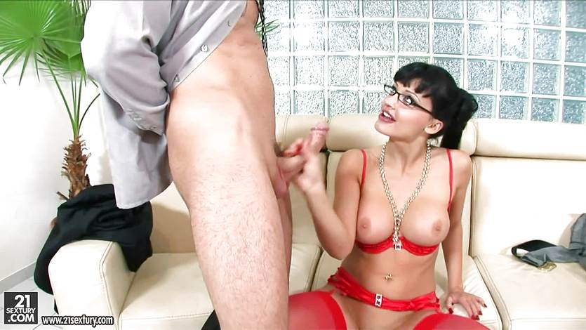 Big dick pounds into Aletta Ocean