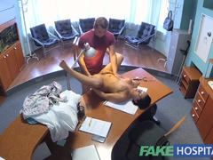 Racy nurse fucked by doctor