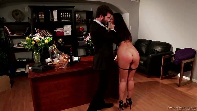 Mature brunette India Summers take it hard from James Deen