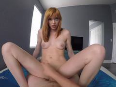 Redheaded beauty Anny Aurora drilled deep POV style
