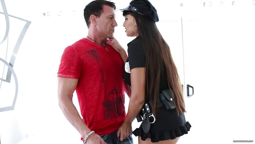 Pussy pounding horny cop Mercedes Carrera