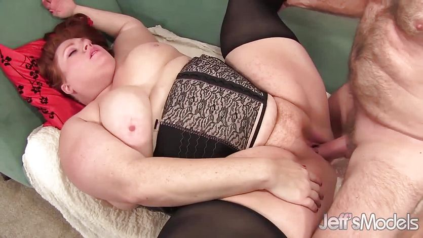 BBW Julie Ann More gets her pussy nailed