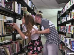 Naughty library fuck with Joseline Kelly