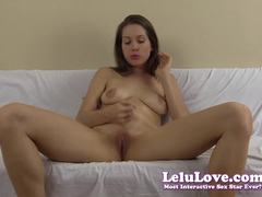 Seductive Lelu Love teasing