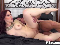 Luscious Jessica Ryan gets her pussy slammed