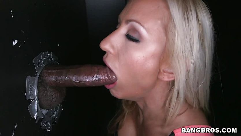 White and black cocks for Zoey Portland