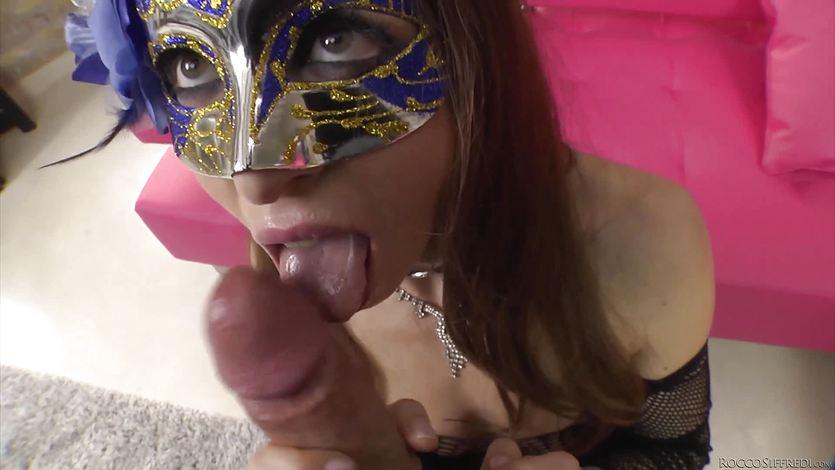 Rocco Siffredi pounding a sexy brunette