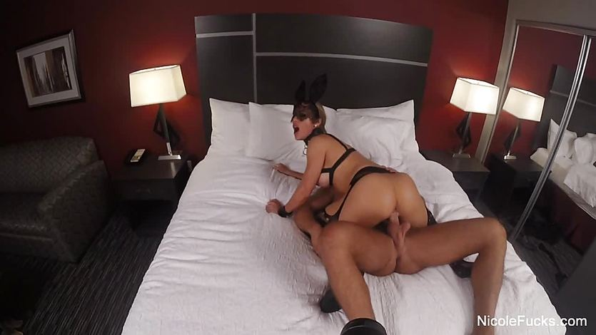 Randy Nicole Aniston fucked from behind