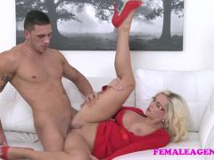 Sensual blonde loves to fuck