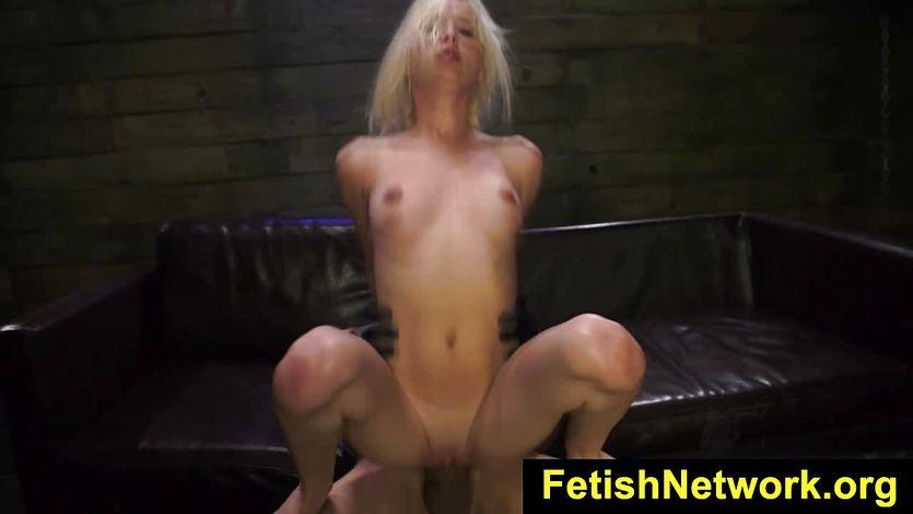 Kinky Piper Perri gets her pussy naiiled