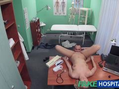 Randy doctor loves hard cock
