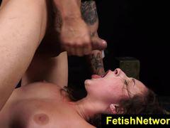 Wild Ashley Adam gets her pussy slammed