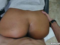 Hot ass Arianna Knight taking a big dick
