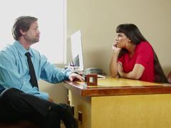 Sexy office babe Mercedes Carrera The Key Sn 3