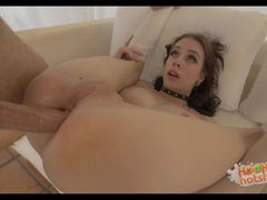 Anna De Ville meets up with stranger for hot anal sex