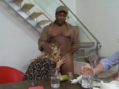 Interracial cuckold fuck with sexy wife Katie Kox