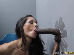 Alexa Tomas sucking hard cock