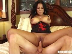 Busty Kiara Mia gets her pussy nailed