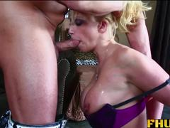 FHUTA Blonde Milf Takes it up the Ass