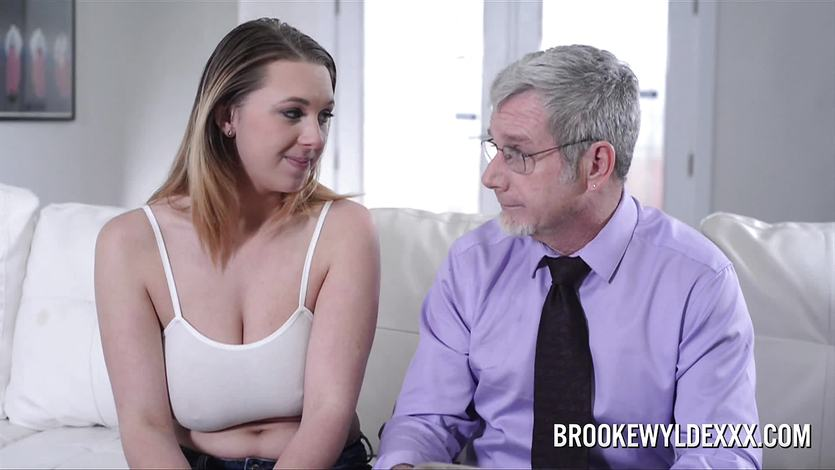 Teen brooke wylde role play with older guy 7