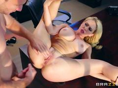 Candidate Kagney Linn Karter craves cock in the office