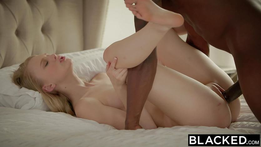 4k abigail mac taking on the biggest 12 inch black cock - 1 5