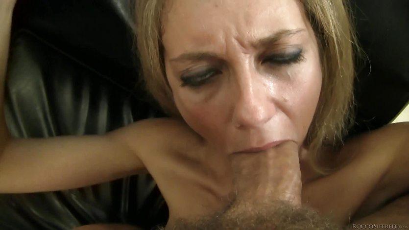 Rocco cramming the sweet pussy of Natasha D
