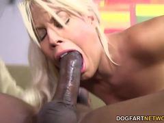 Bridgette B gets ass fucked by BBC