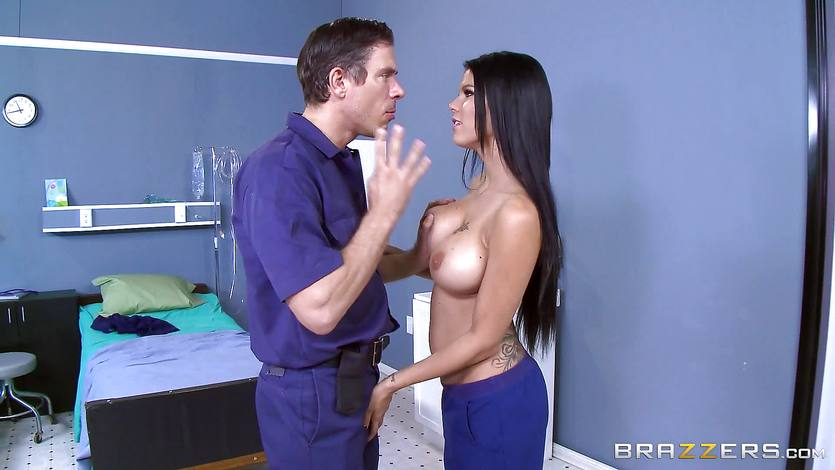 Peta Jensen takes the best ride to safty