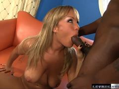 Blonde MILF Jessica Moore gets shafted by Jon Jon