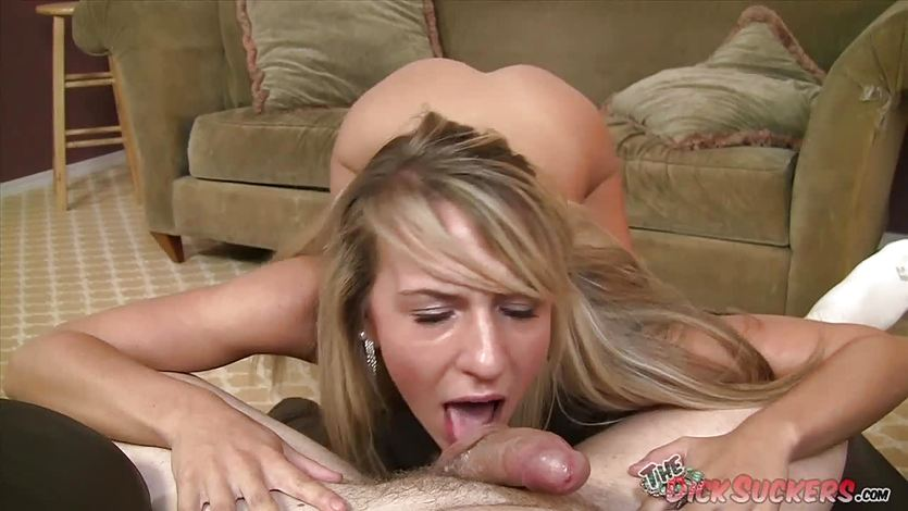 Blowing a cock Kiara Knight
