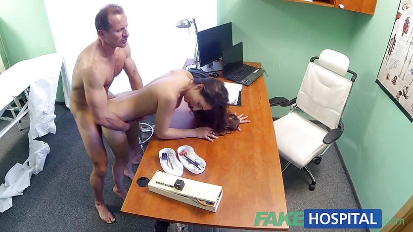 Randy patient fucked hard